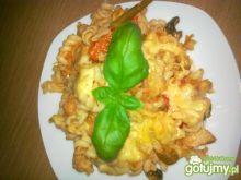 Zapiekanka z makaronem i kurczakiem 4