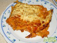 Zapiekanka z makaronem lasagne