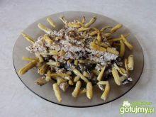 Zapiekanka z mięsa i fasoli szparagowej