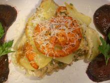 Zapiekanka z mięsa mielonego i ziemniaków