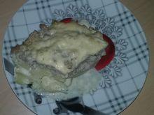 Zapiekanka z mięsem mielonym i ziemniakami