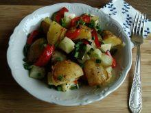 Zapiekanka z młodych warzyw z nutą oregano