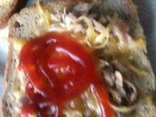 Zapiekanka z pieczarkami i serem