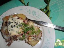 Zapiekanka z resztkami serów