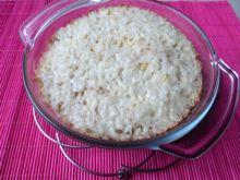 Zapiekanka z ryżu i jabłek