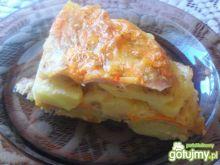 Zapiekanka  z serem pleśniowym