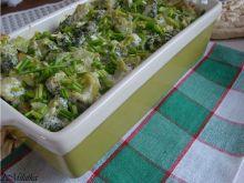 Zapiekanka z sosem brokułowym