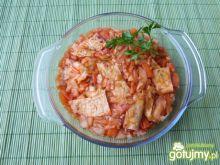 Zapiekanka z warzyw i naleśników