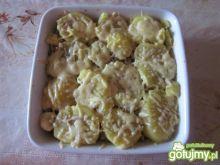 Zapiekanka z ziemniakami haliny