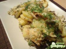 Zapiekanka z ziemniakami z patelni