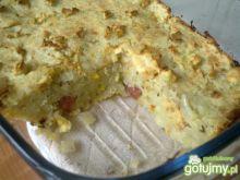 Zapiekanka z ziemniaków i kapusty
