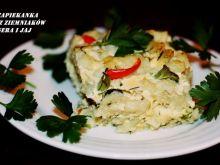 Zapiekanka z ziemniaków, sera i jaj
