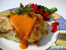 Zapiekanka ziemniaczana z karkówką i pie