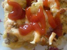 Zapiekanka ziemniaczana z mięsem mielonym i cebulą