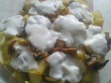 Zapiekanka ziemniaczana z pieczarkami
