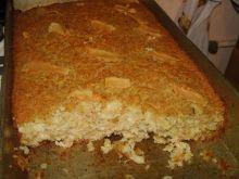 Zapiekanka ziemniaczano-ryżowa.