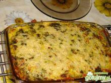 Zapiekanka ziemniaczano-warzywna z rybą