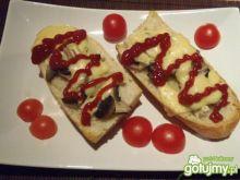 Zapiekanki z pieczarkami i serem 2