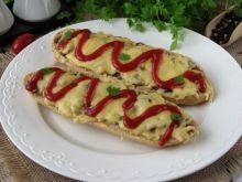 Zapiekanki z pieczarkami i serem