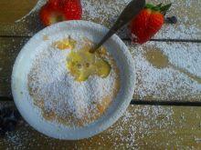 Zapiekany kogel-mogel z owocami