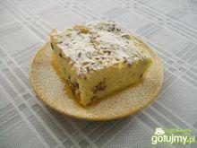 Zapiekany makaron z serem i rodzynkami
