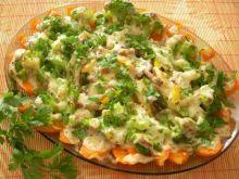 Zapiekany półmisek warzyw