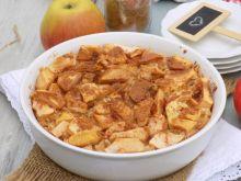 Zapiekany ryż jaśminowy z jabłkami i kokosem