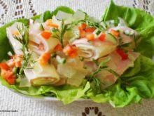 Zawijaski szynkowo- serowe