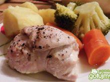 Zawijaski z piersi kurczaka