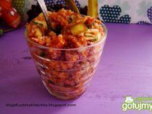 Zdrowa i smaczna  sałatka z kaszy