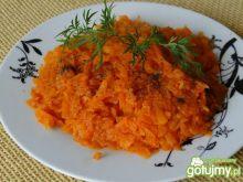 Zdrowa marchewka na gęsto