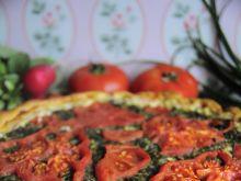 Zdrowa pizza wiosenna