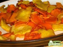 Zdrowe chipsy dwukolorowe z ActiFry