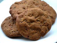 Zdrowe ciastka gryczane z czekoladowymi groszkami