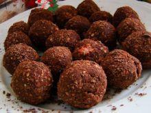 Zdrowe czekoladowe trufle