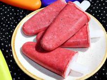 Zdrowe lody truskawkowe z płatkami owsianymi