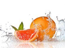 Zdrowy grapefruit