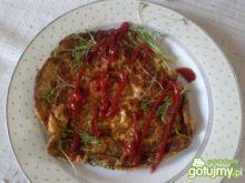 Zdrowy omlet na śniadanie