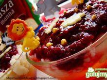 Zdrowy rodzinny deserek z kaszą manną