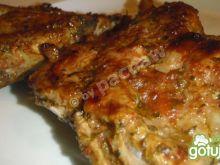 Żeberka keczupowe grillowane