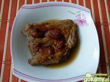Żeberka wieprzowe w sosie własnym