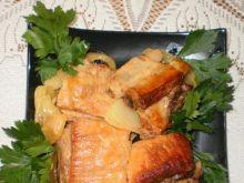 Żeberka z cebulą z Garnka rzymskiego :