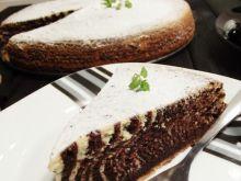 Zebra pyszne dwukolorowe ciasto