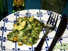 Zielona frittata