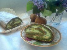 Zielona rolada z kiwi