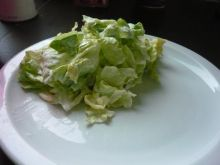 Zielona sałata do obiadu