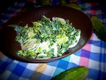 Zielona sałatka w stylu czeskim