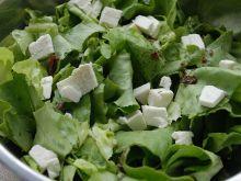 Zielona sałatka z fetą