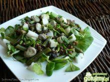 Zielona sałatka z kaszą gryczaną