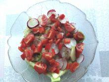 Zielona sałatka z rzodkiewką
